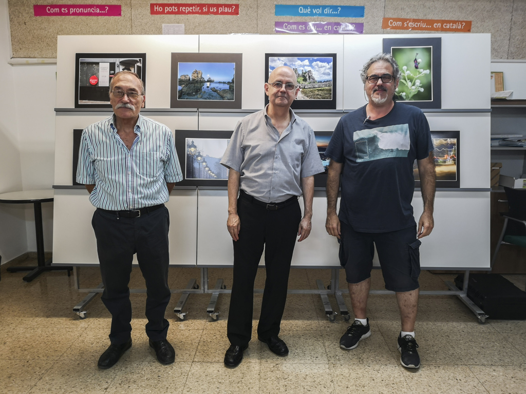 Concurs social setembre i inauguració exposició MariAngeles Benítez