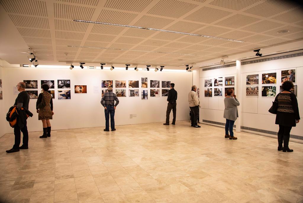 Inauguració exposició Biblioteques a la BCC
