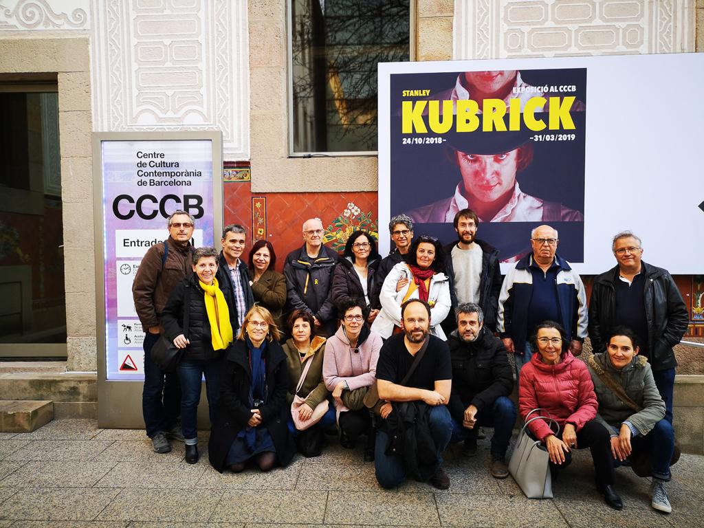 Sortida exposició Stanley Kubrick