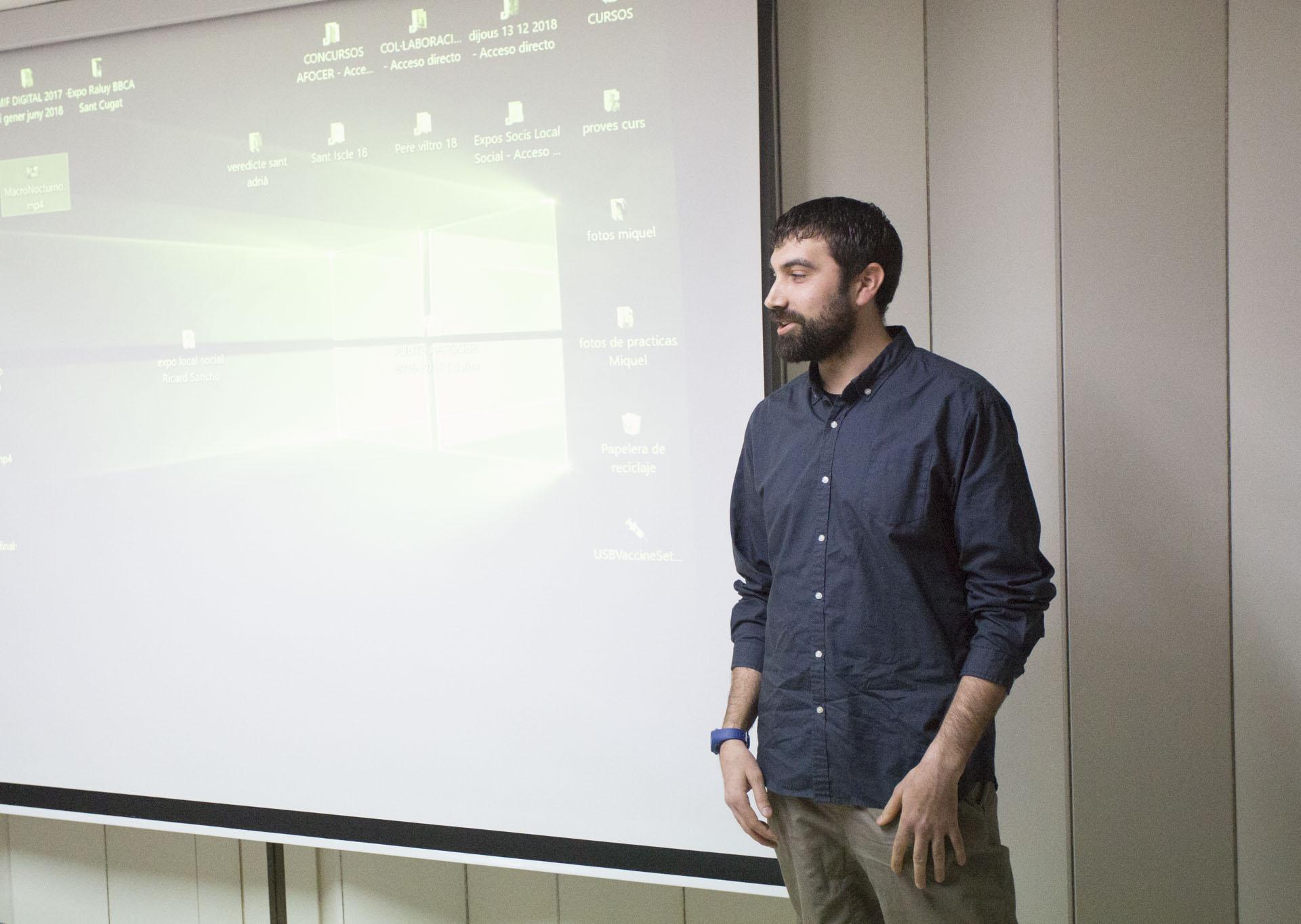 Macro nocturn amb Óscar Méndez