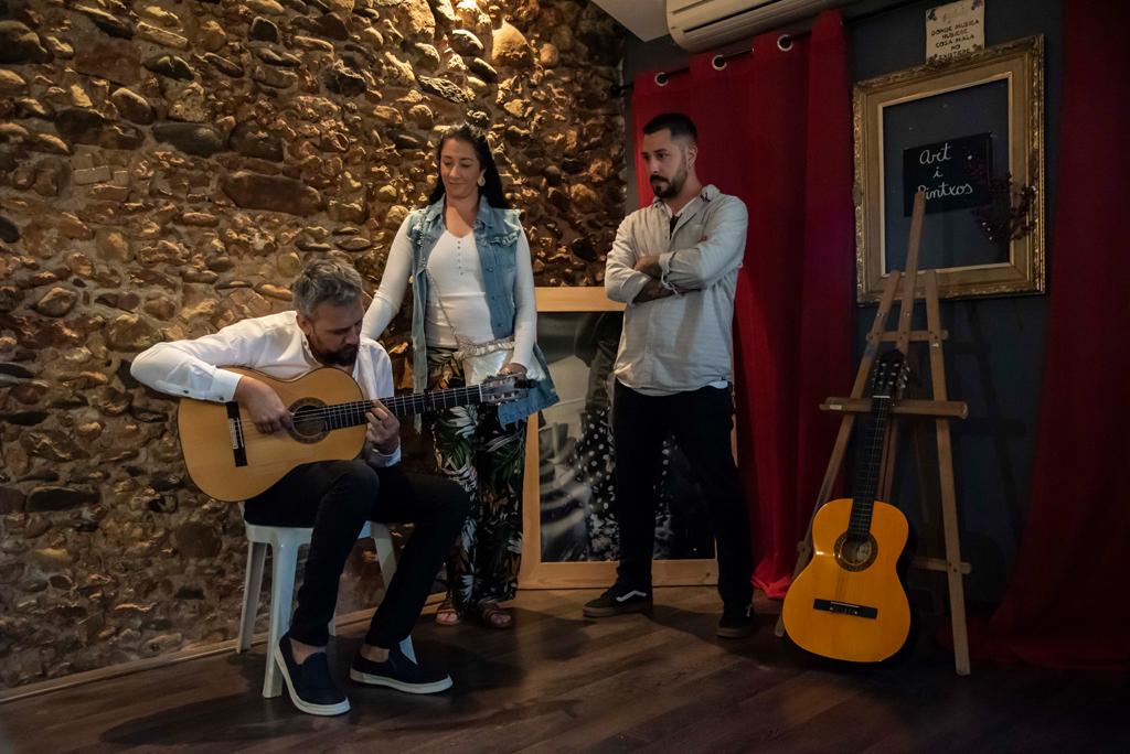 Exposición de flamenco de l'Edu Alegre