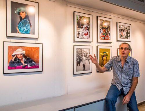 Concurs social octubre i inauguració exposició de Pere López