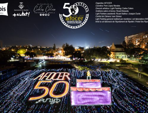 Lightpainting 50 años Afocer