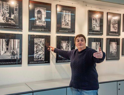 Inauguración exposición Carme Aldana en el local social