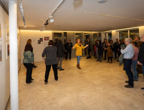 Inauguración exposición Yo,Payasa