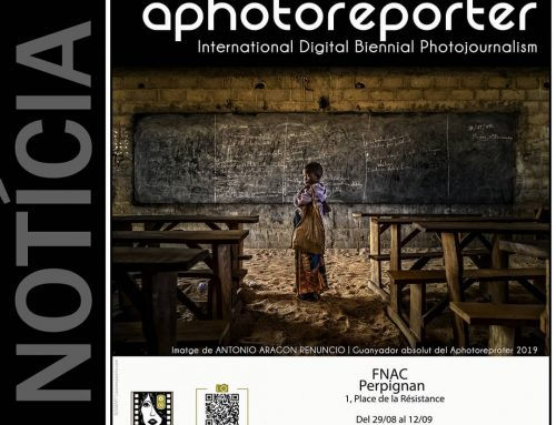 Exposició Aphotoreporter al Visa Off