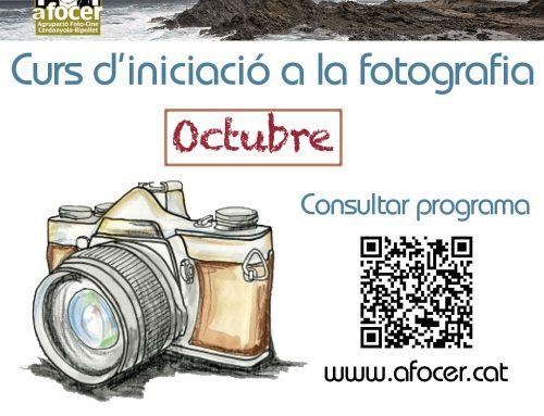 Curso iniciación a la fotografia