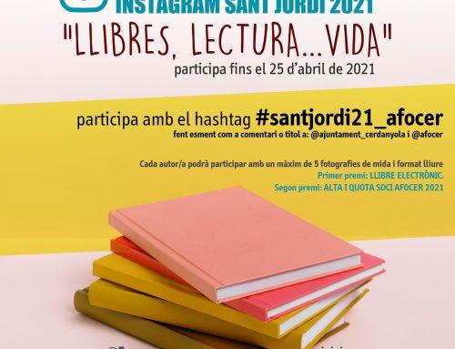 Concurs instagram Sant Jordi 2021