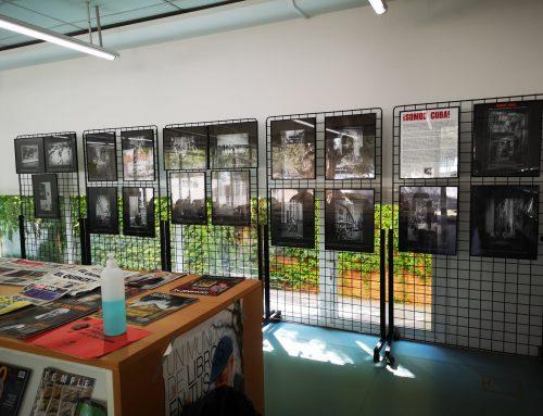 Exposición Somos Cuba de Carme Aldana en la biblioteca de Ripollet
